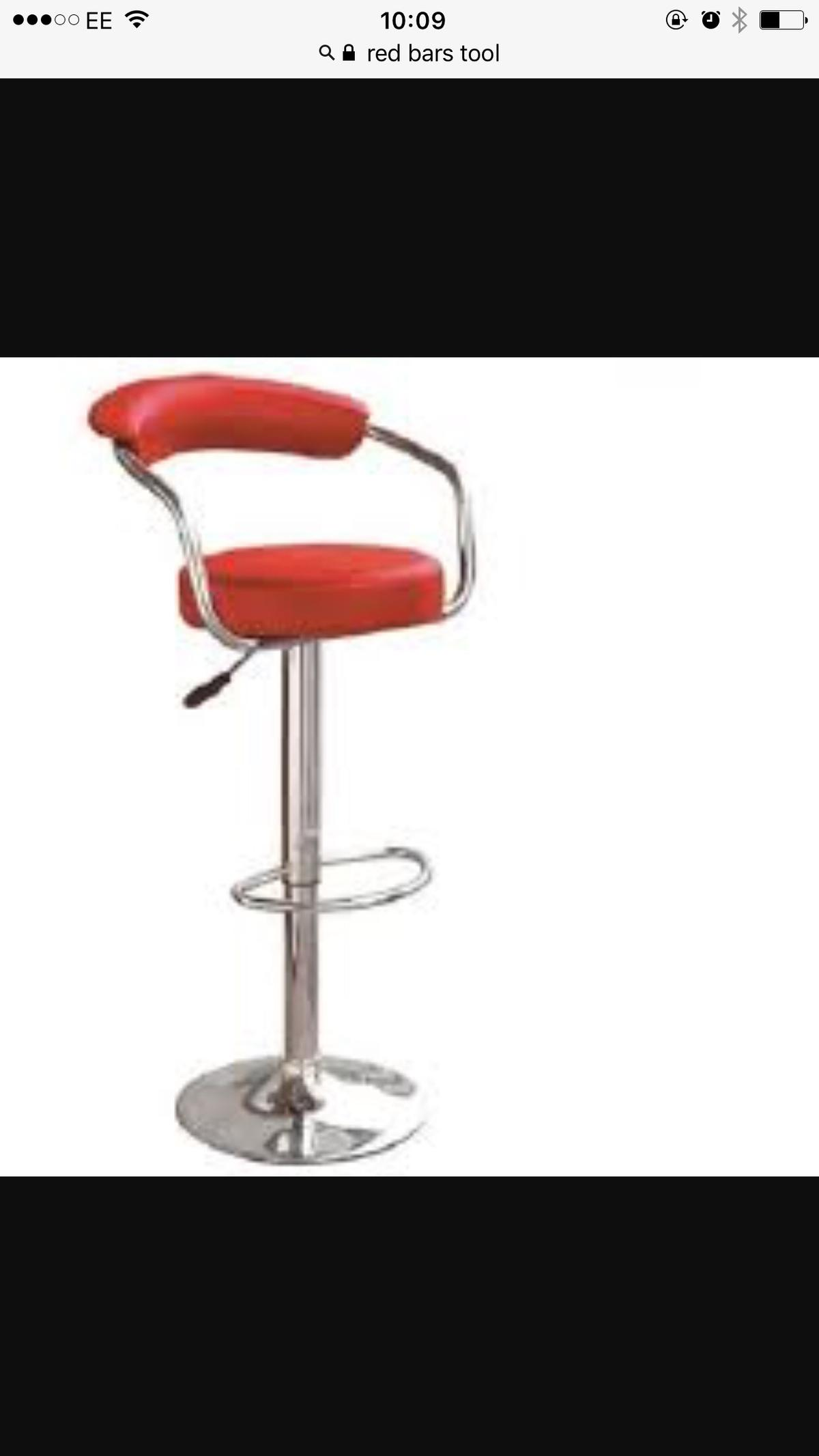 Fine 2 Adjustable Bar Stools Red Leather Alphanode Cool Chair Designs And Ideas Alphanodeonline