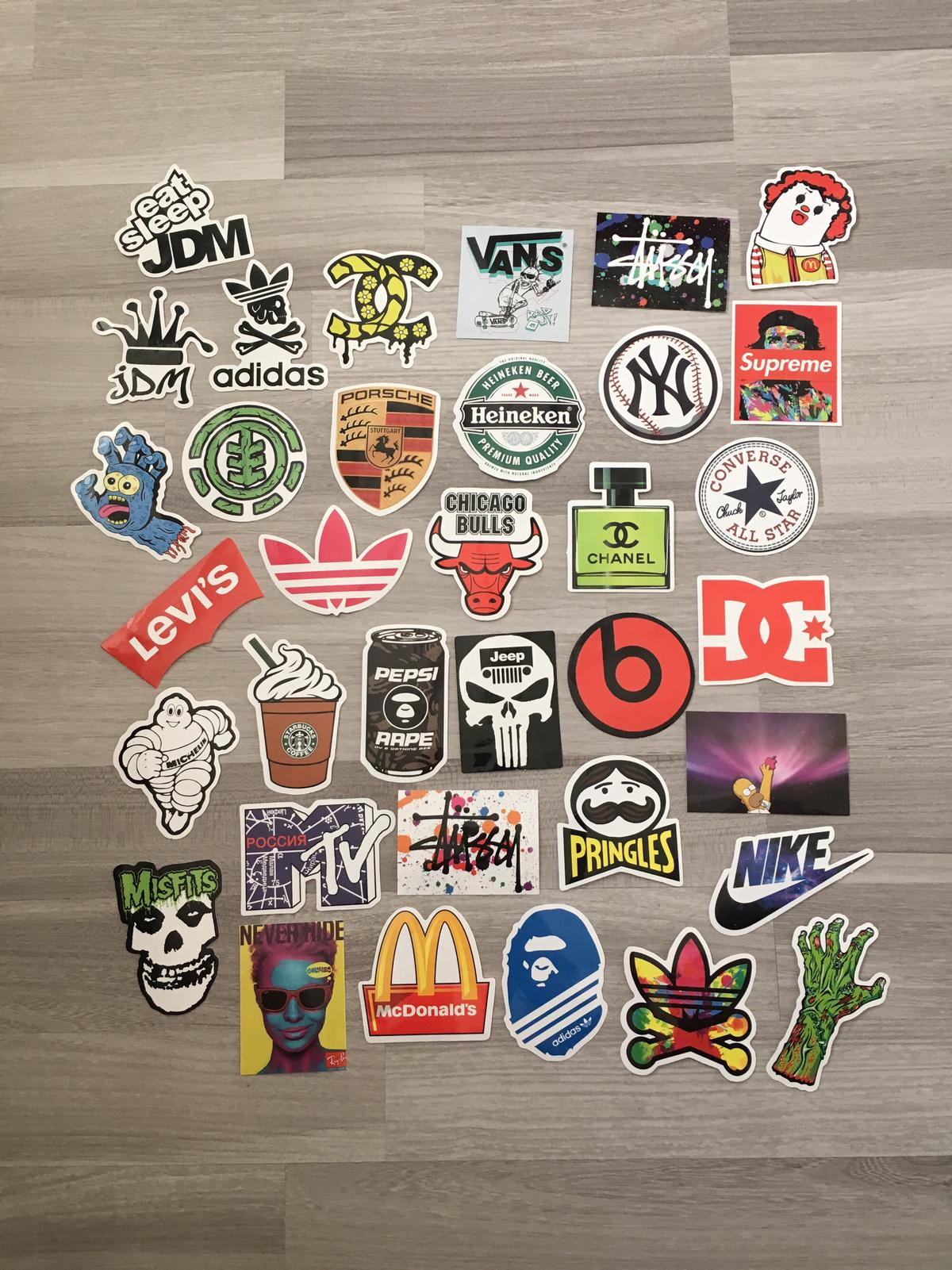 Marken Sticker