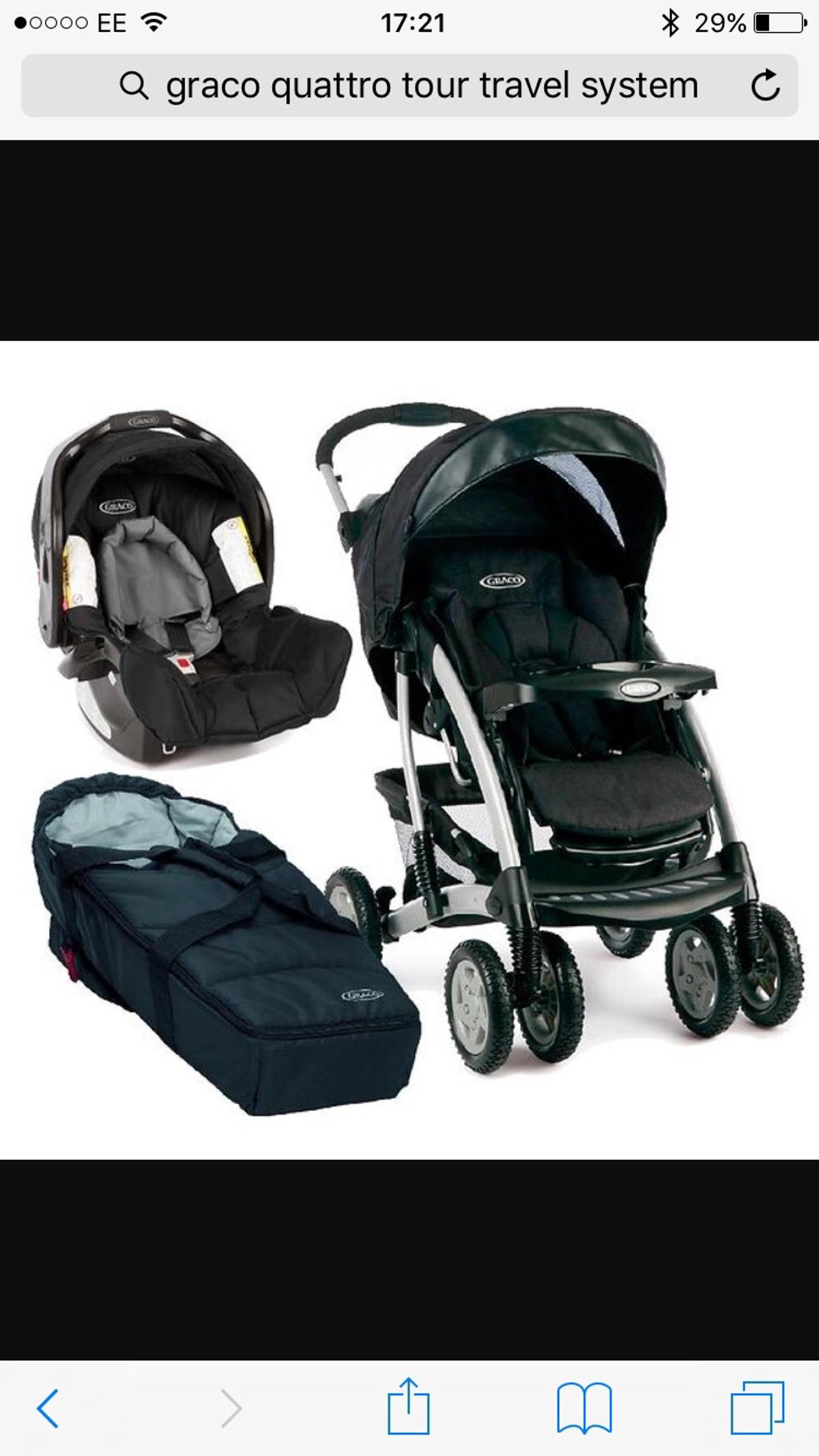Graco Quattro Tour Deluxe Travel System In Wd6 Borehamwood For