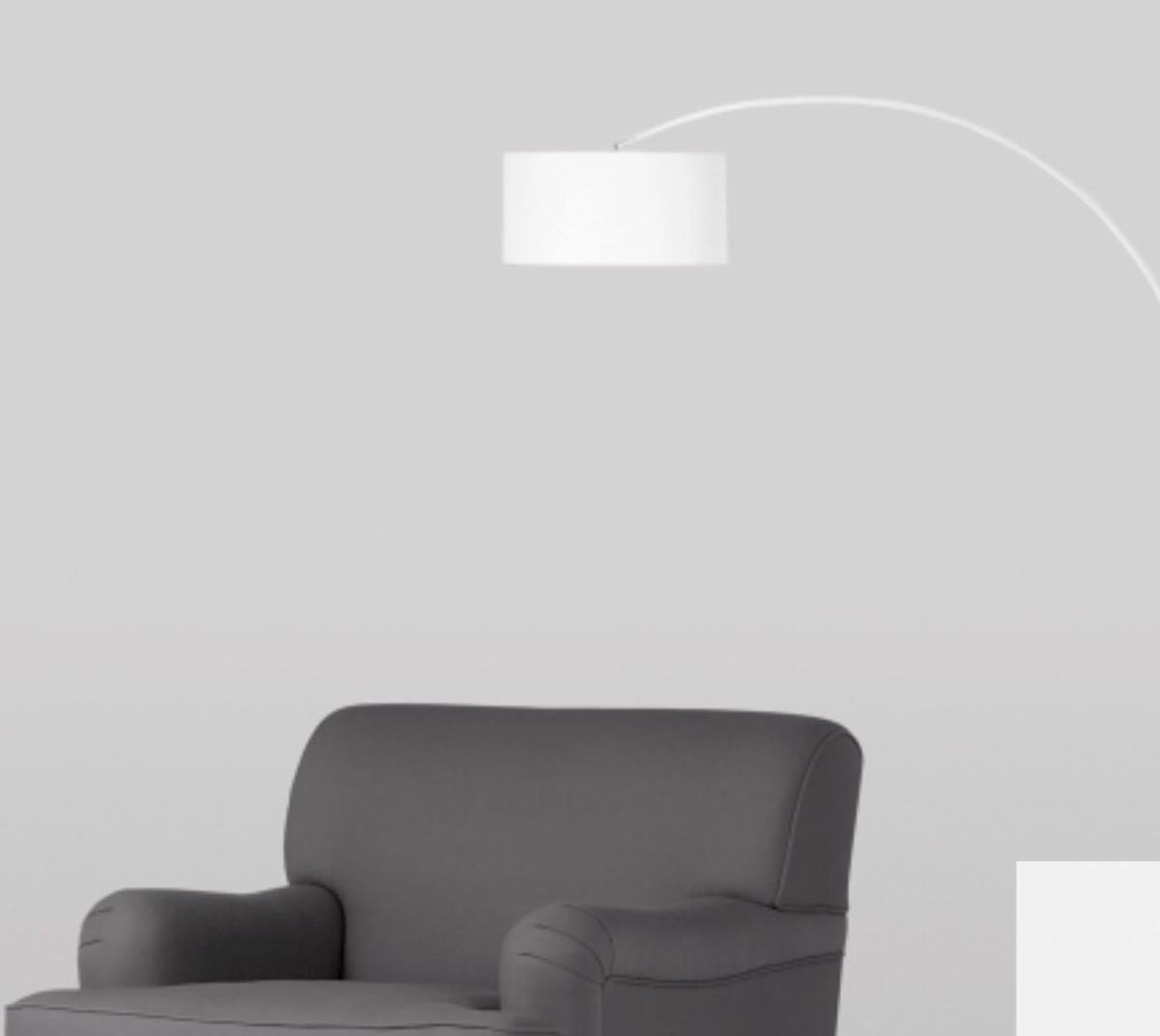 Sensational Tall White Arch Floor Lamp By Made Dot Com In Ls17 Shadwell Download Free Architecture Designs Jebrpmadebymaigaardcom