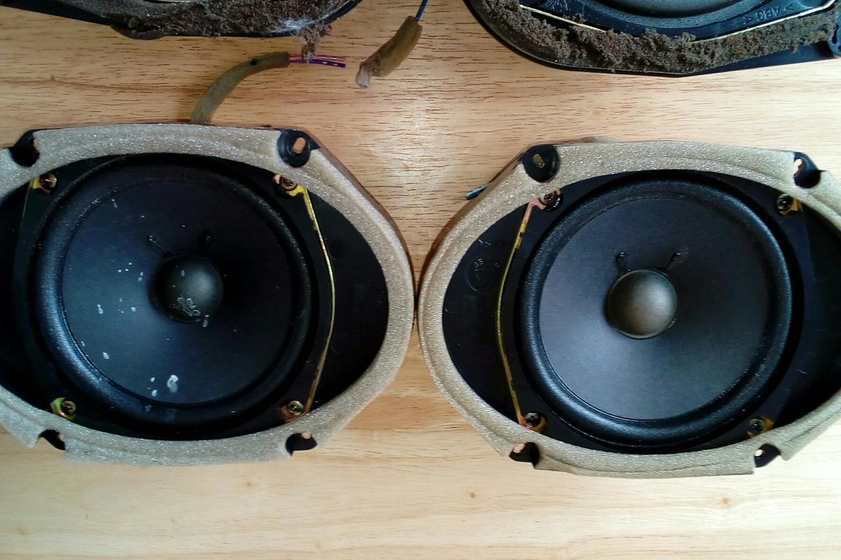 Mazda 6 BOSE sub woofer and speakers in DE55 Alfreton for
