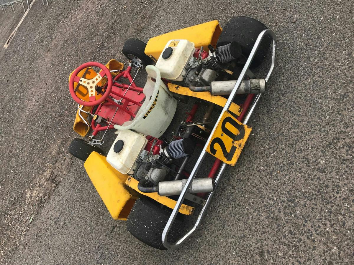 Prokart twin engine go kart in TN10 Tonbridge for £400 00 for sale