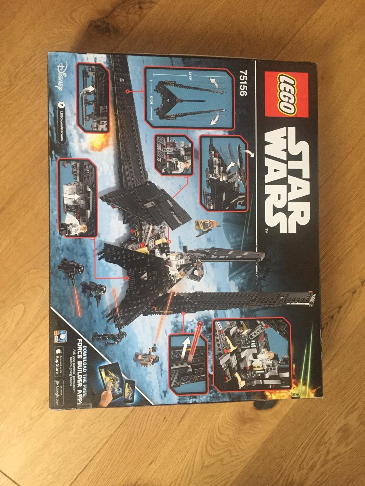 Star Wars Lego Imperial Shuttle New In Cv34 Warwick For 5500 For