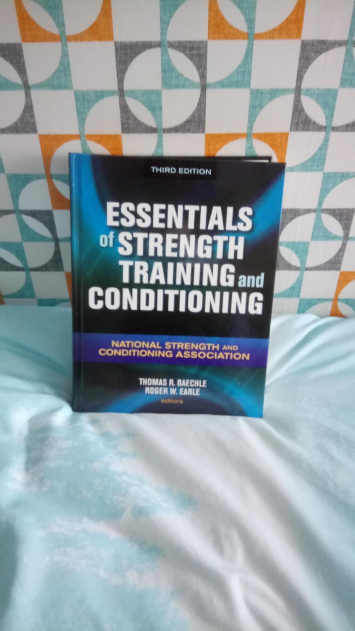 Strength & Conditioning training textbook