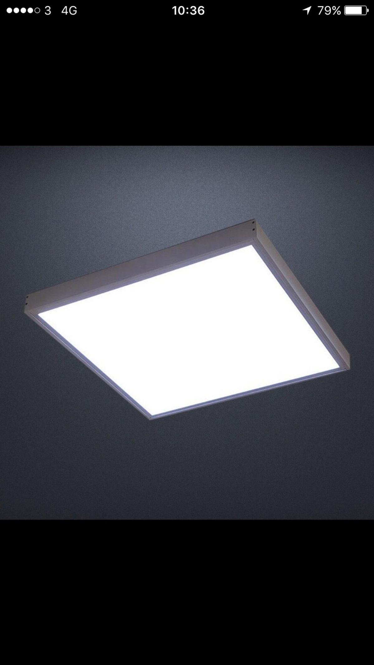 Panel Led Light With Ceiling 48w In Ig11 Barking For