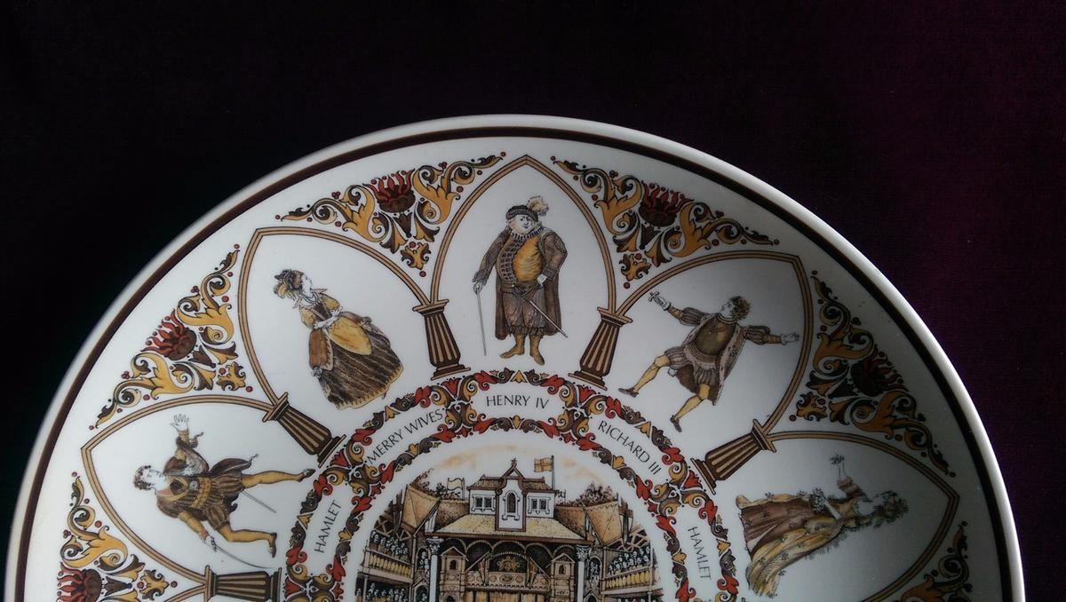 Wedgwood Shakespeare Characters Plate in GU15 Heath for £13 00 for