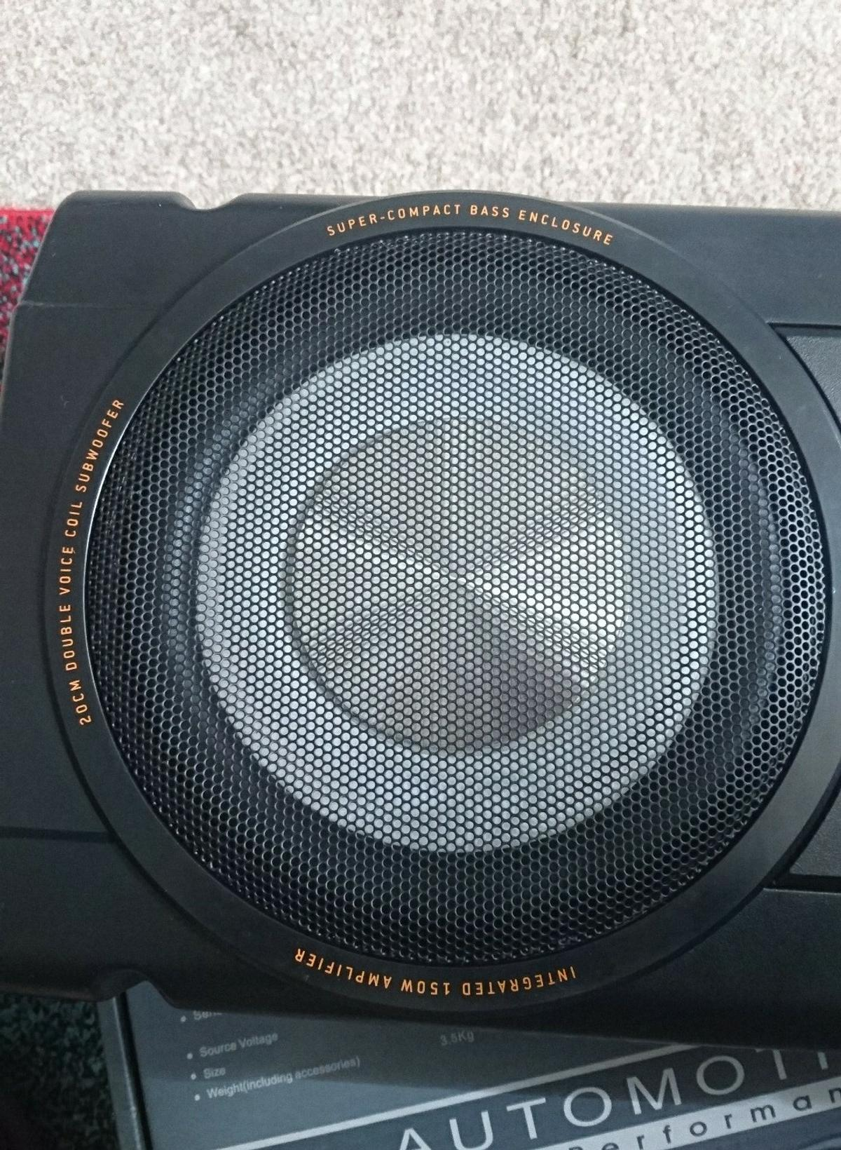 MBQ Active Subwoofer model Pb12 with remote in NG3 ... on