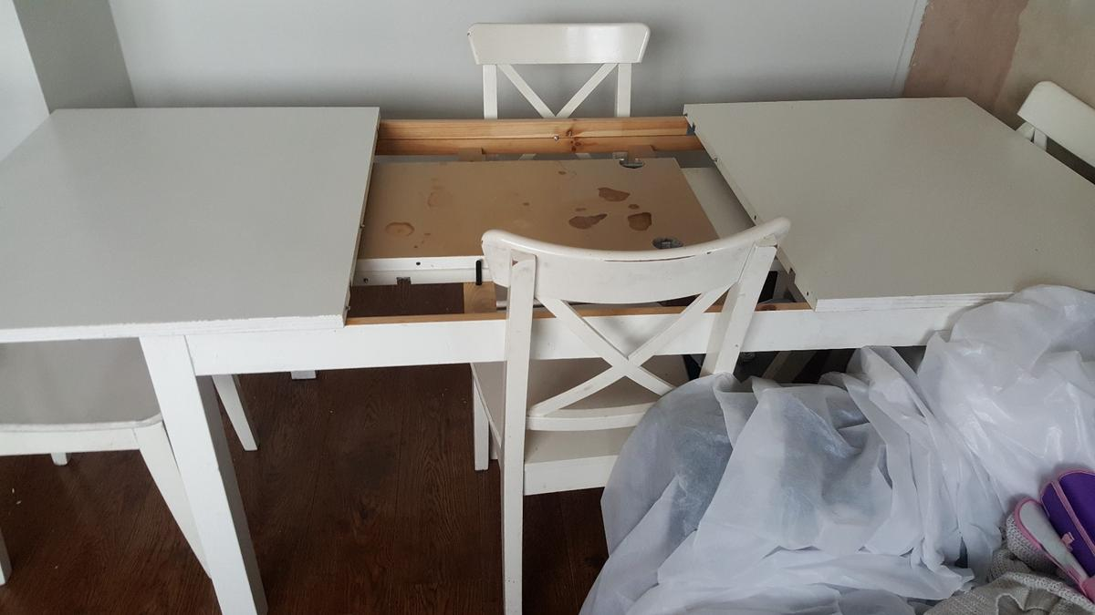 Ikea Ingolf Table And Chairs In E14 London For 50 00 For Sale Shpock