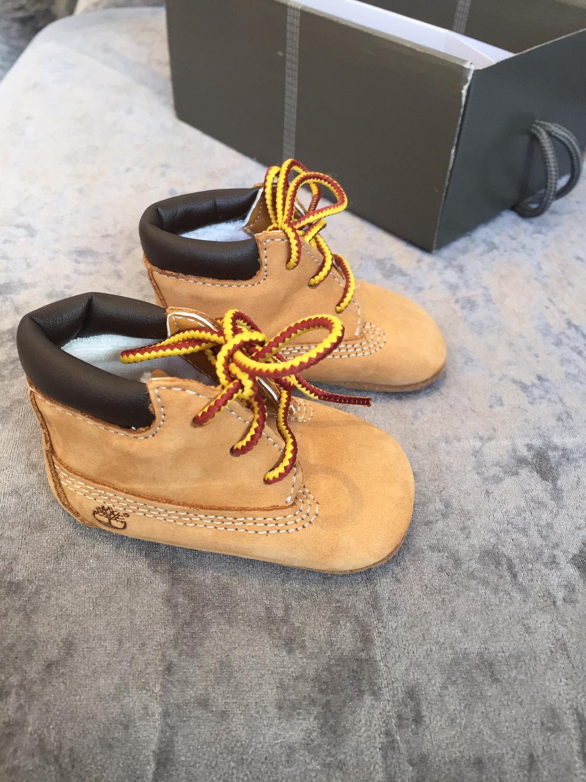 5d1c631db Baby timberland soft Pram shoes  booties in SG2 Stevenage for £7.00 ...