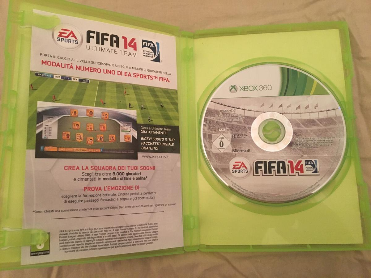 fifa 14 xbox 360 in 00135 roma for 5 00 for sale shpock fifa 14 xbox 360