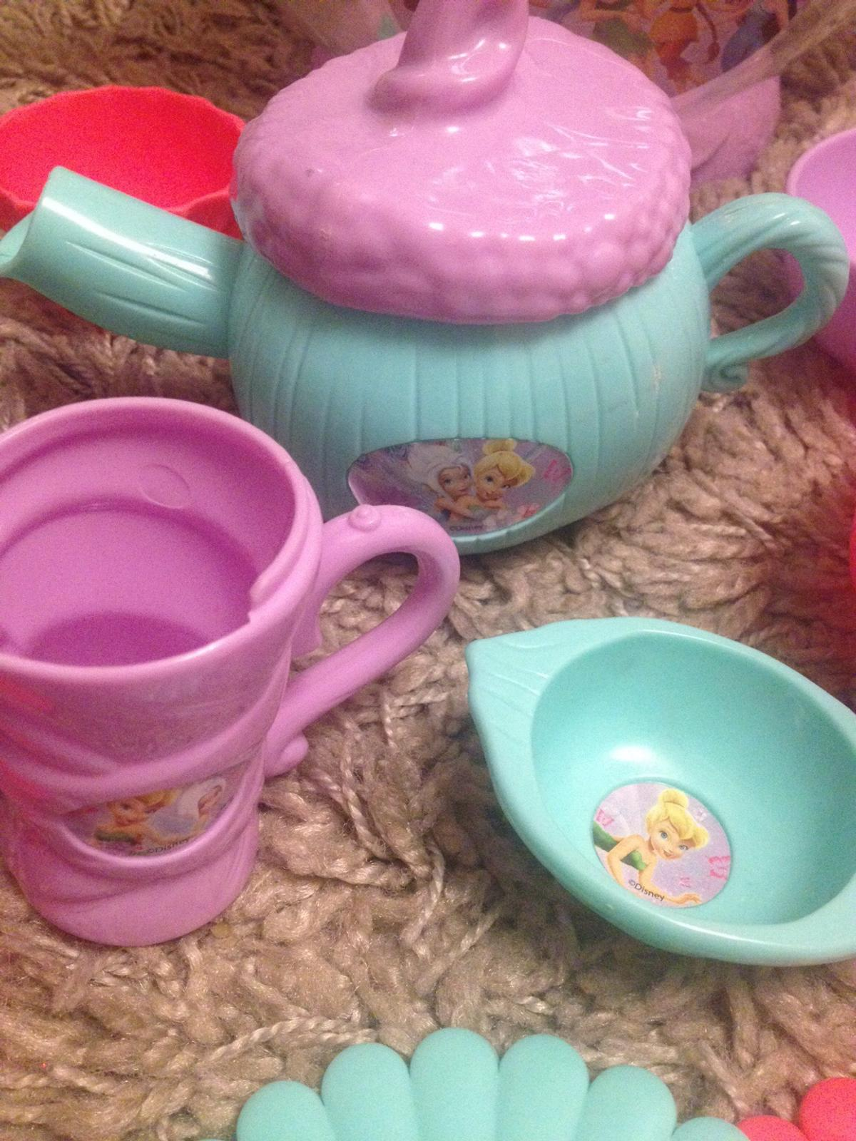 Disney store, tinkerbell and friends tea set in RM3 Romford for