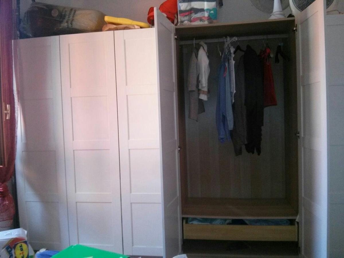Armadio A 6 Ante Ikea.Armadio 6 Ante Ikea Pax In 20133 Milano For 450 00 For Sale Shpock