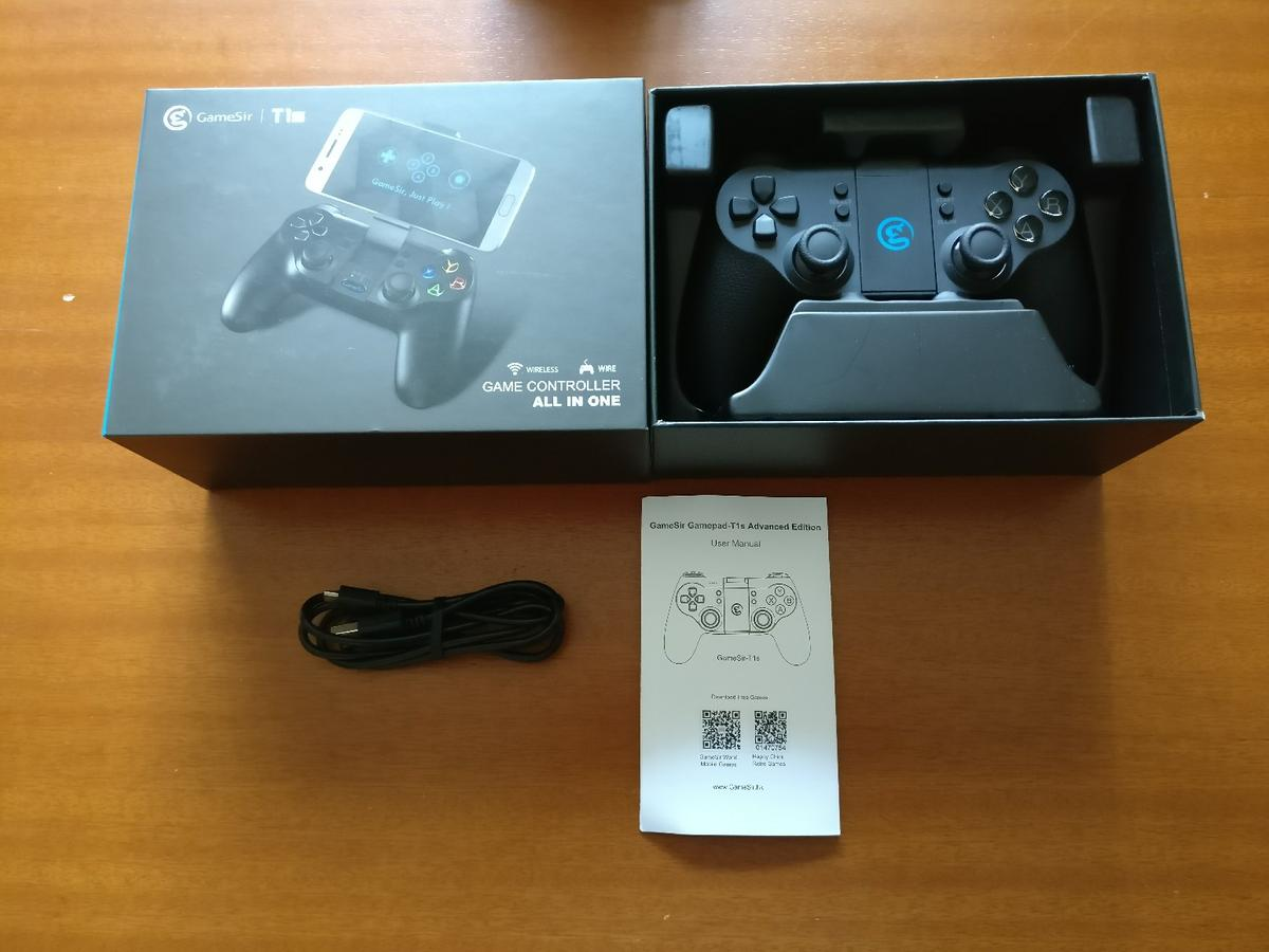 Gamesir T1S Android, IOS, Windows controller in BL4 Farnworth for