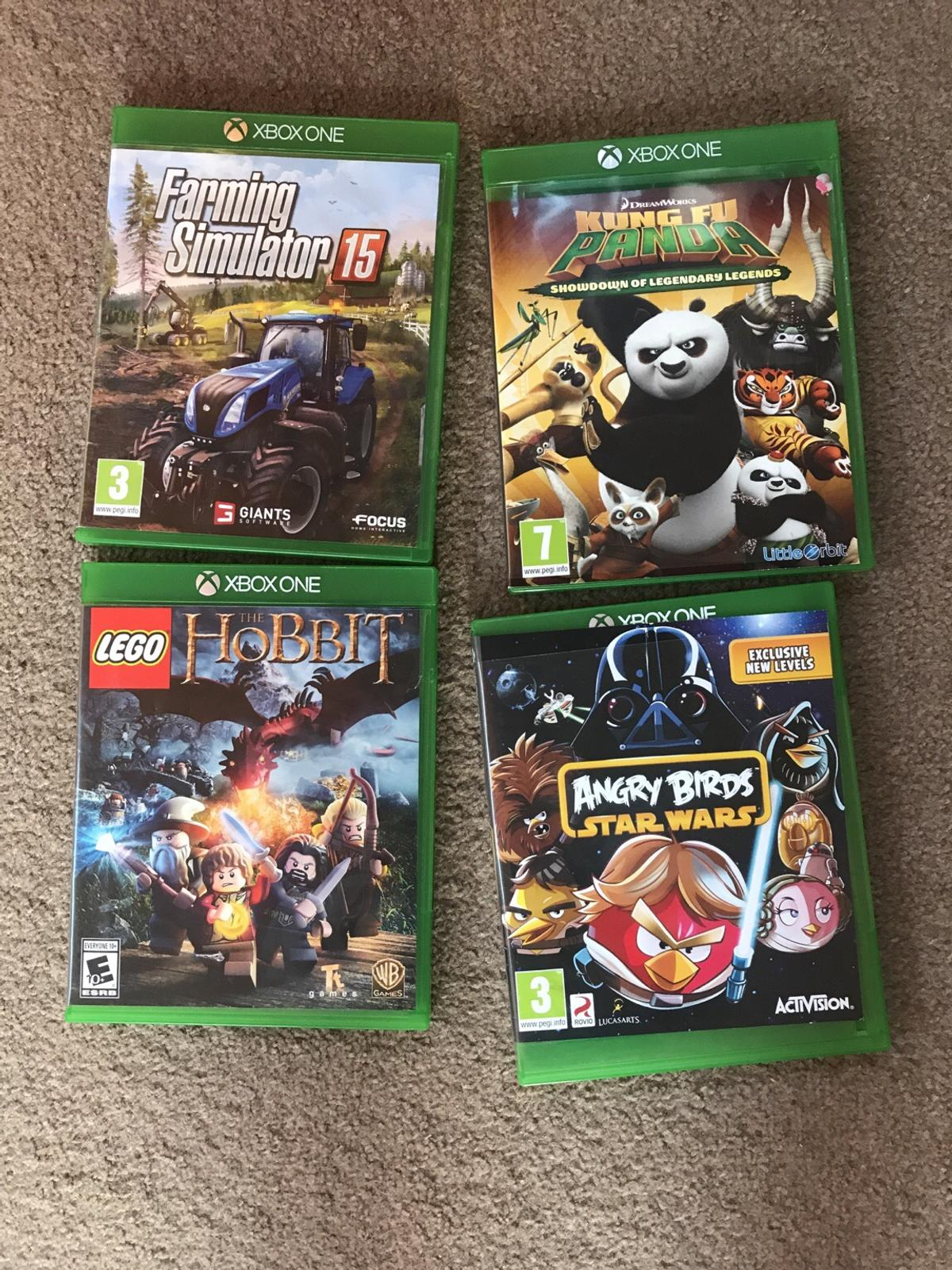 4 Xbox one Kids games excellent condition xma