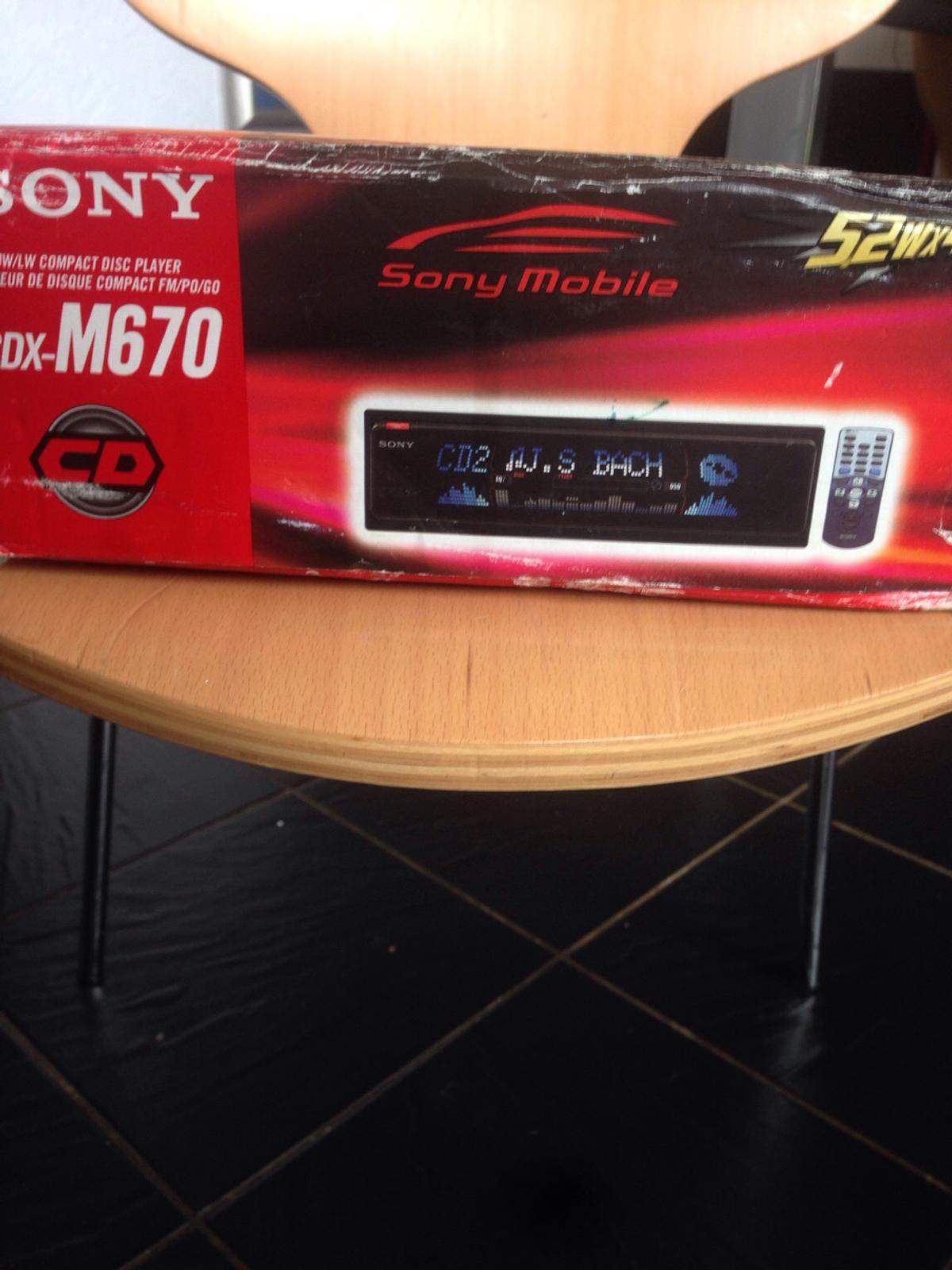 sony cdx m670 car audio in wn3 wigan for �35 00 for sale  sony plug cdx gt210 cdx m630 cdx m650