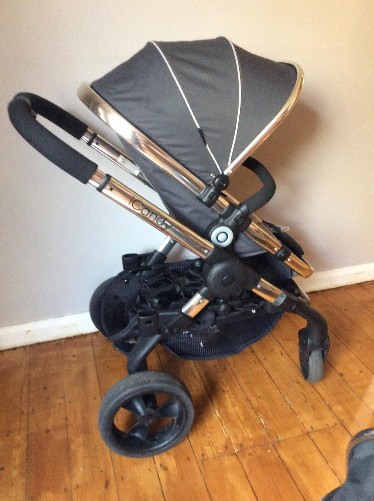 2 and 3 Handle Bar Cover to fit ICANDY PEACH PUSHCHAIR 1