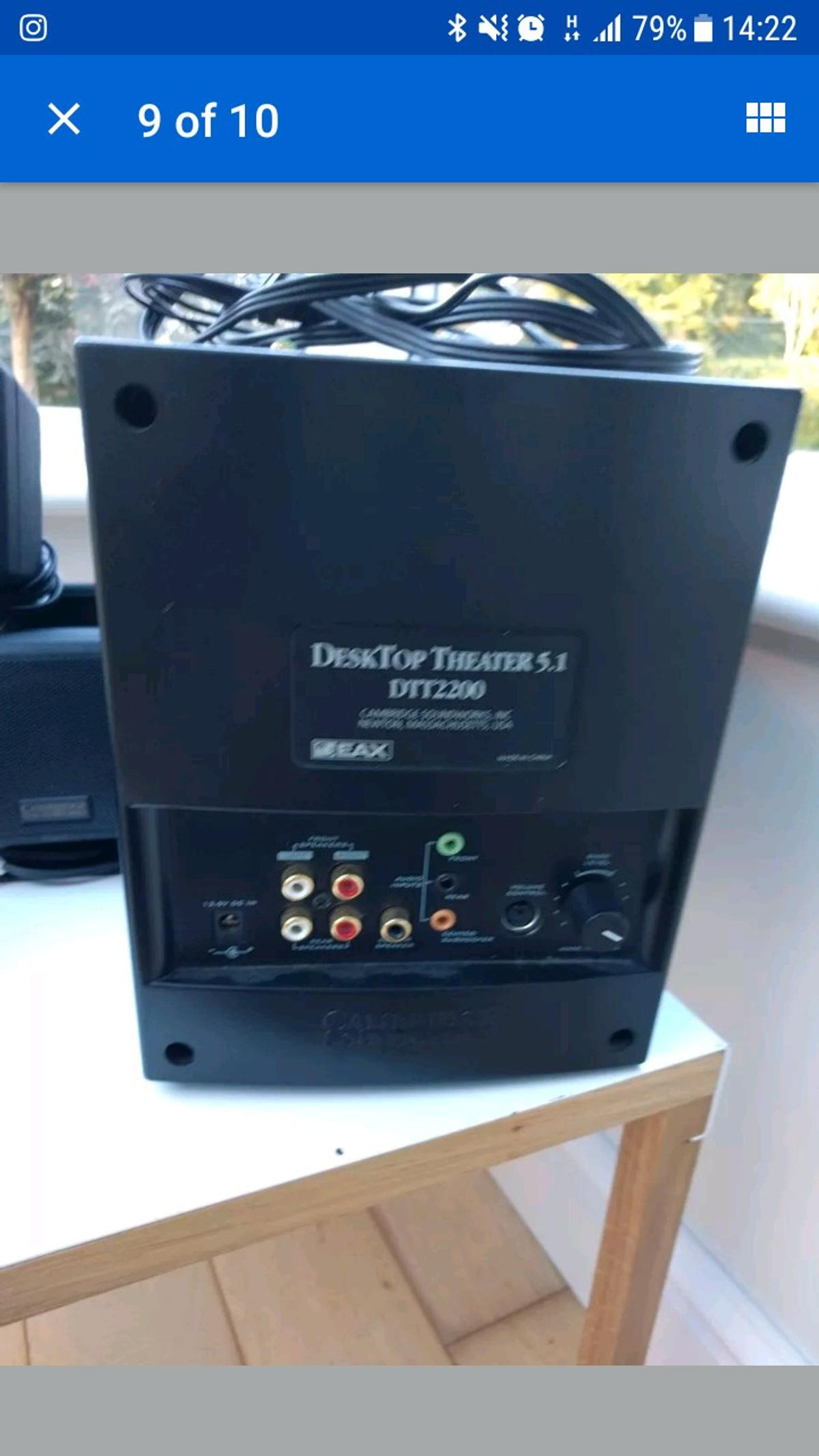 CAMBRIDGE SOUNDWORKS DTT2200 DRIVERS FOR WINDOWS 10