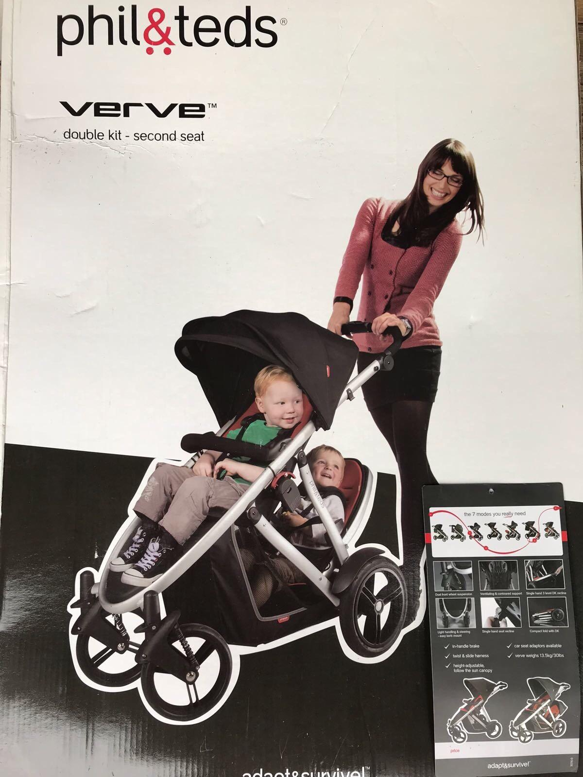 Phil And Teds Verve Double Buggy In W4 London Fur 130 00 Kaufen