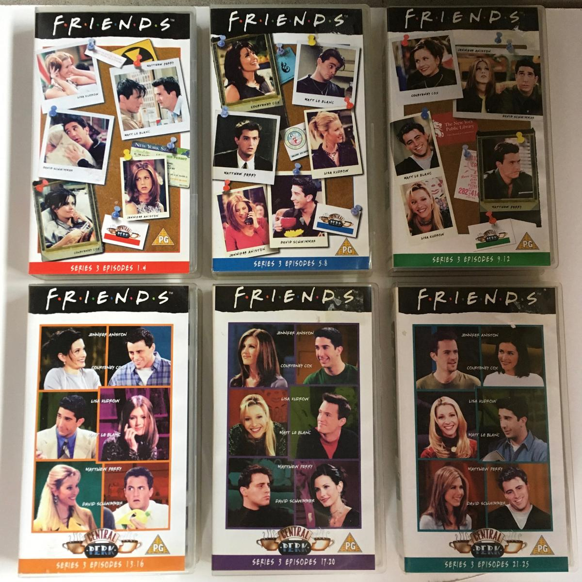 Friends' VHS Tapes - Job Lot in SY12 Cockshutt for £25 00