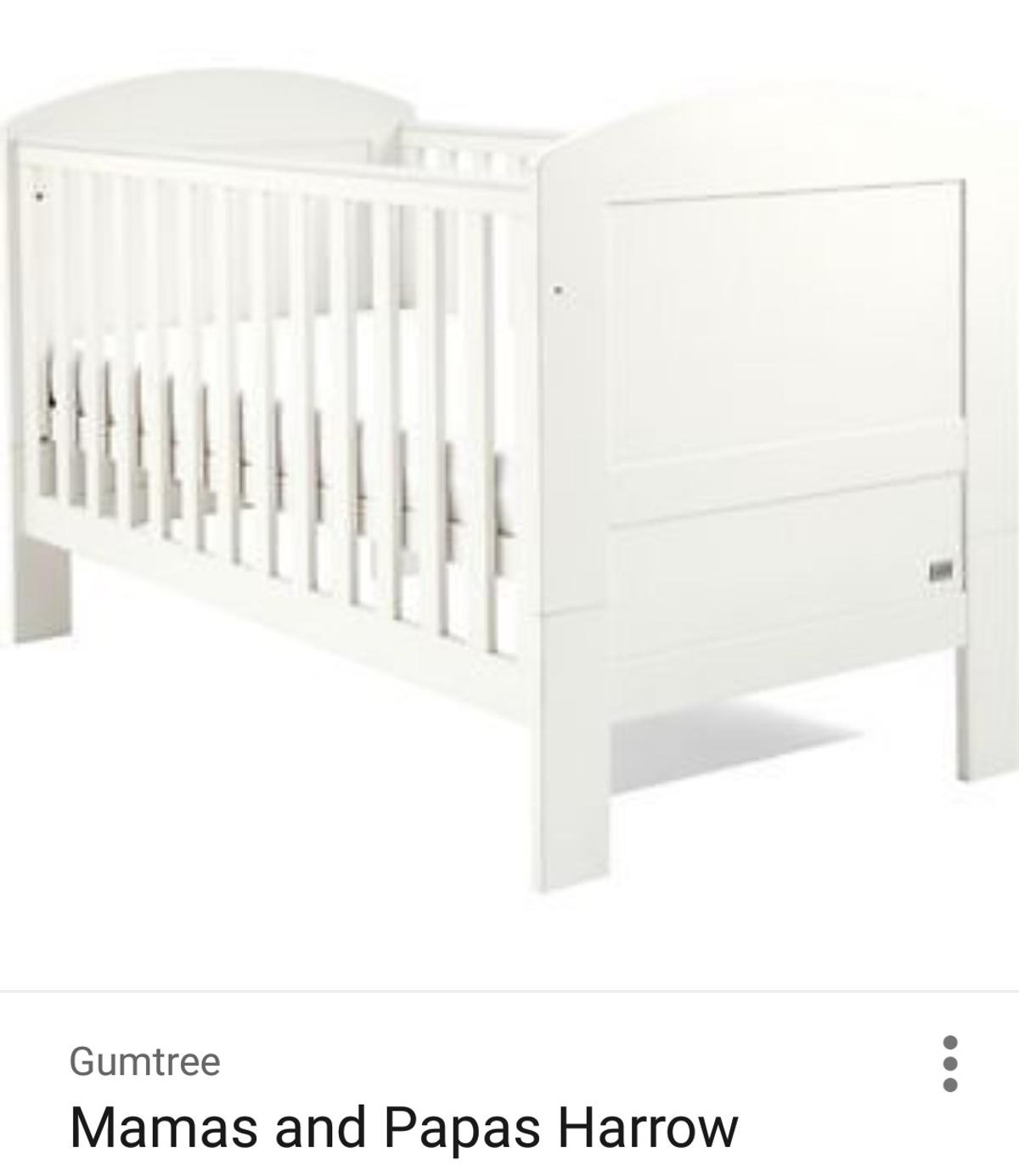 new product c4288 7eab7 Mamas & papas Harrow cot bed