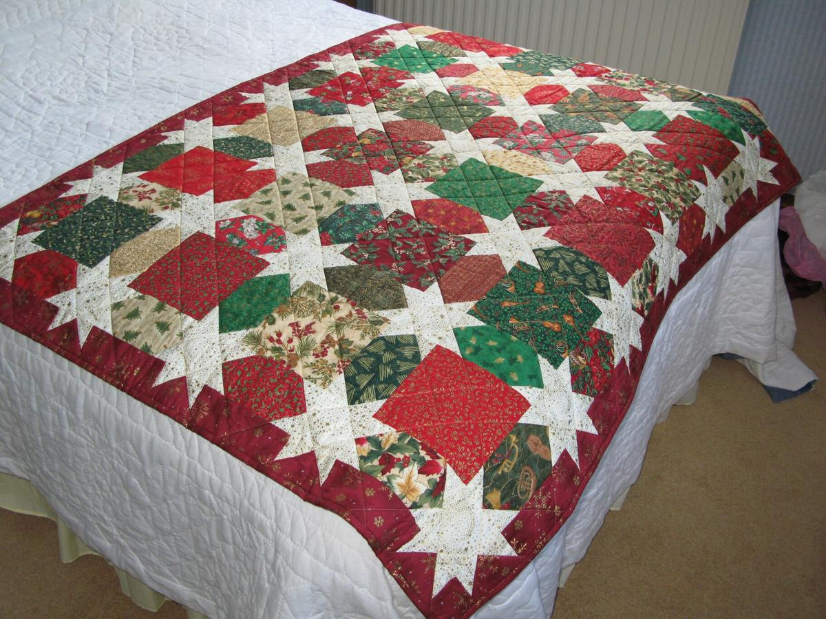 Christmas Quilt.Christmas Quilt