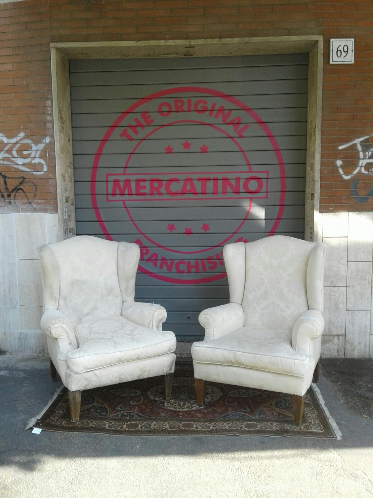 Poltrone Bergere Roma.Poltrone Bergere Antiche In 00175 Roma For 200 00 For Sale