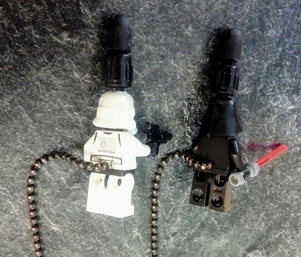 Custom Star Wars fishing bobbins  NEW in SN12 Seend for £15 00 for