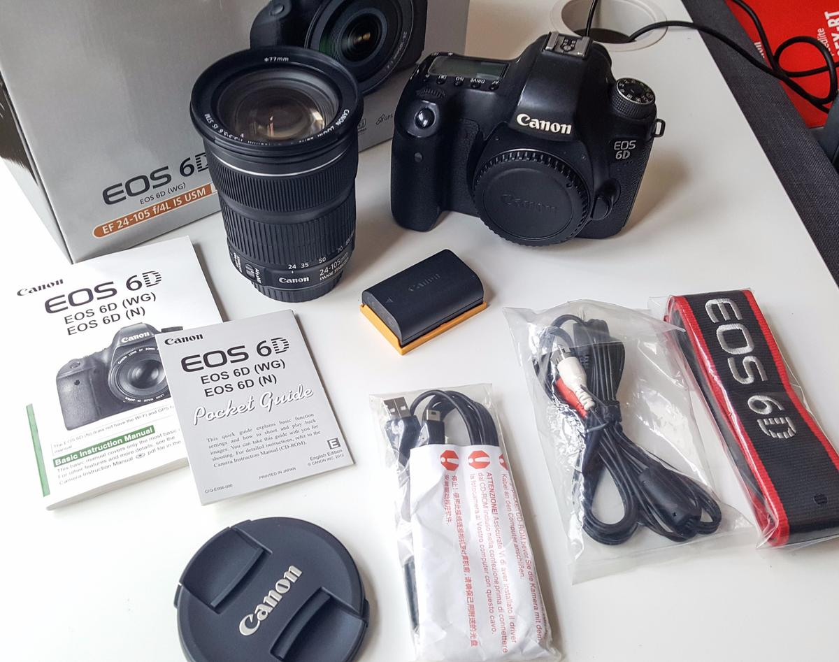 Canon EOS 6D Fullframe Camera in SW19 London for £800 00 for sale