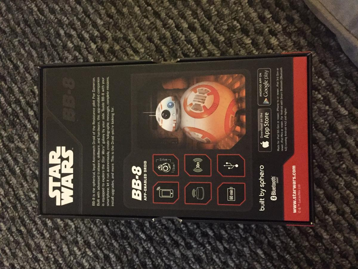 Star Wars sphero BB-8 app-enabled droid in L25 Liverpool for £50 00