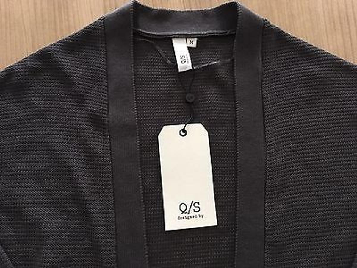 QS, s.Oliver, Cardigan Offen,Neu Anthrazit in 63477 Maintal