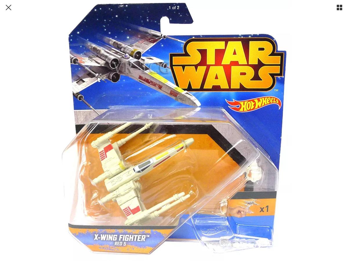 Hot Wheel Star Wars X Wing Fighter Red 5 In M34 Tameside For 4 99 For Sale Shpock