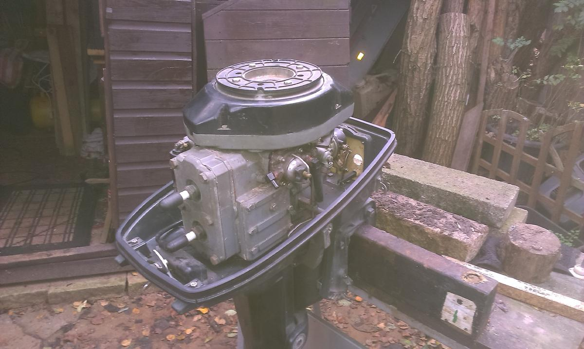 Selva 9 9 outboard for parts or repair