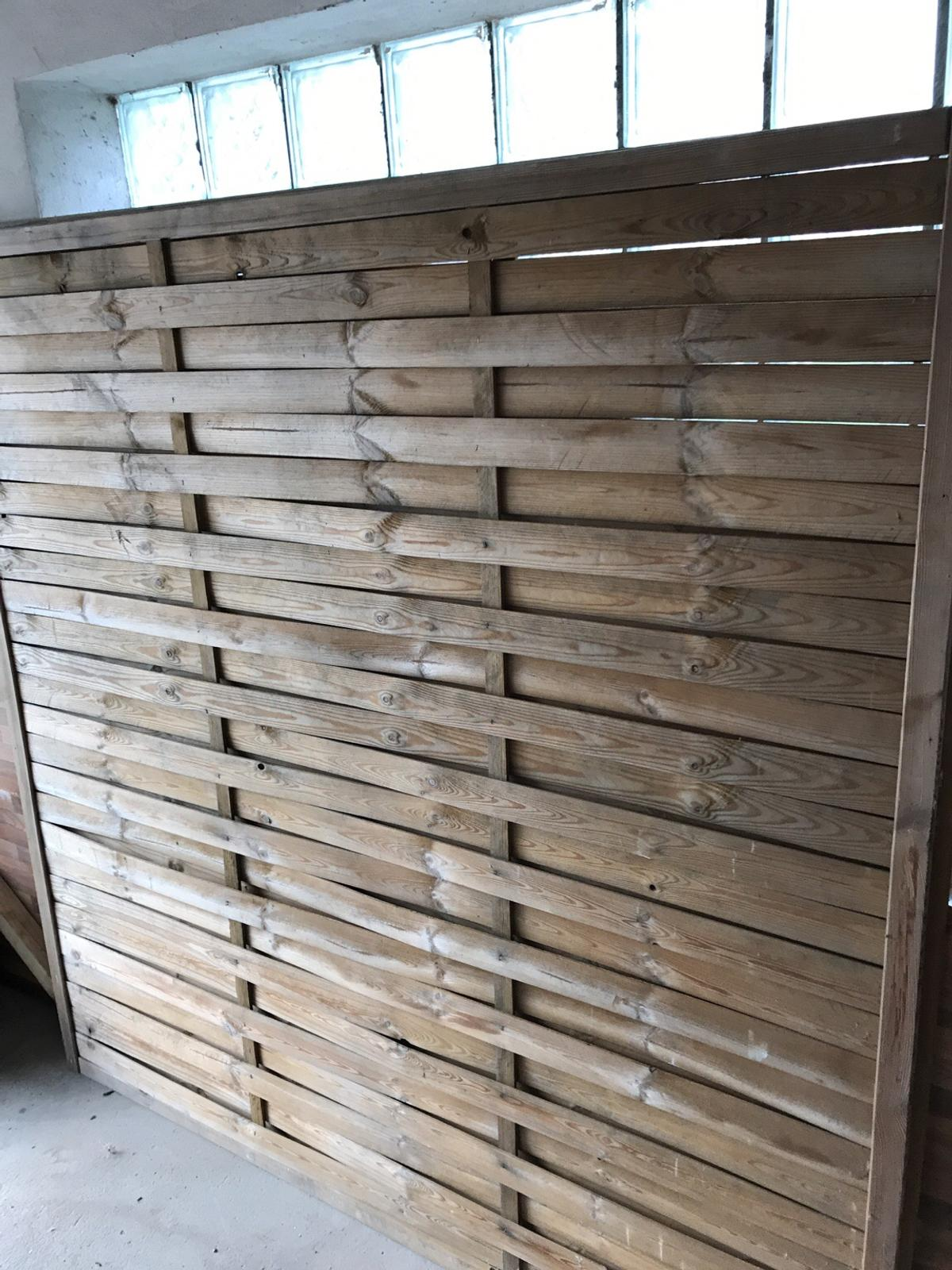 2x Holz Lamellenzaun 180x180 In 76761 Rulzheim For 15 00 For Sale