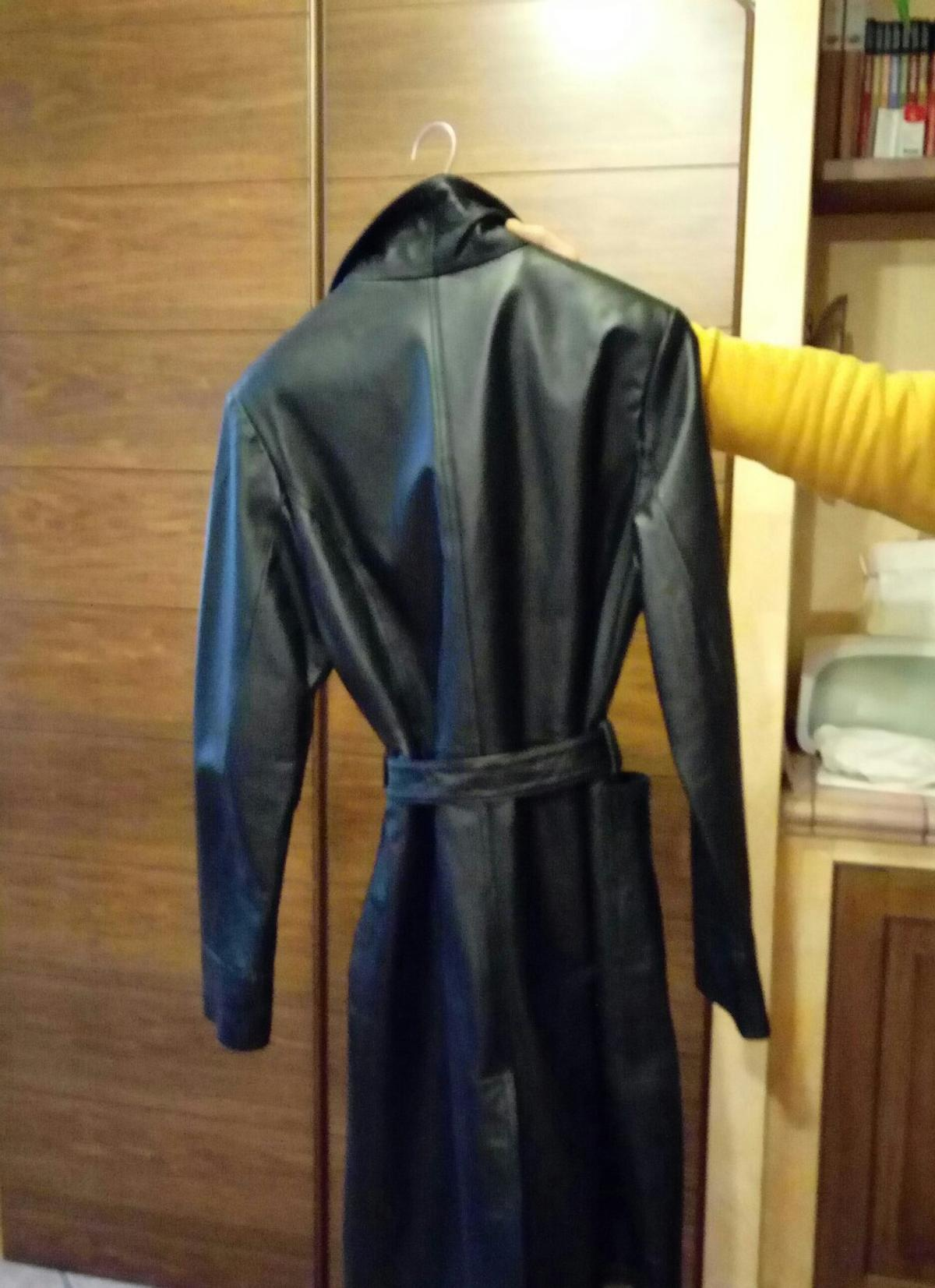 low priced 70ad7 451cc Cappotto pelle donna