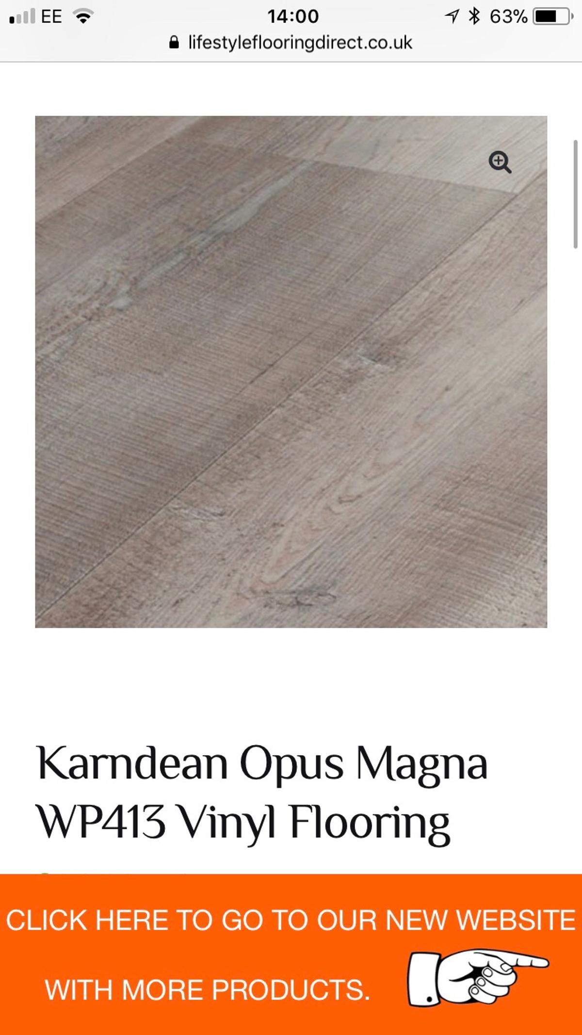 4 Boxes Karndean Opus Magna Vinyl Flooring In Bl2 Bolton For 300 00
