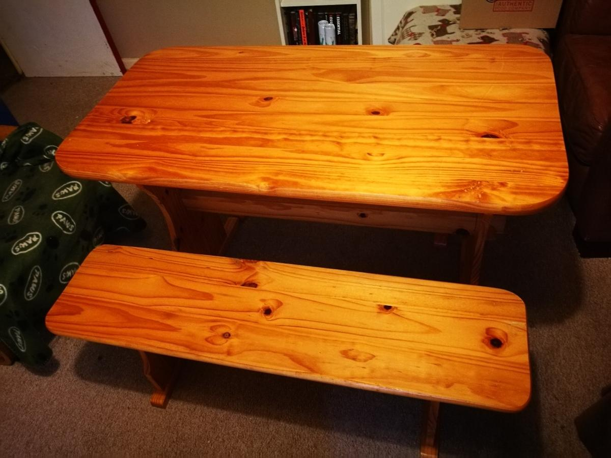 Fantastic Pine Picnic Table Benches Gmtry Best Dining Table And Chair Ideas Images Gmtryco
