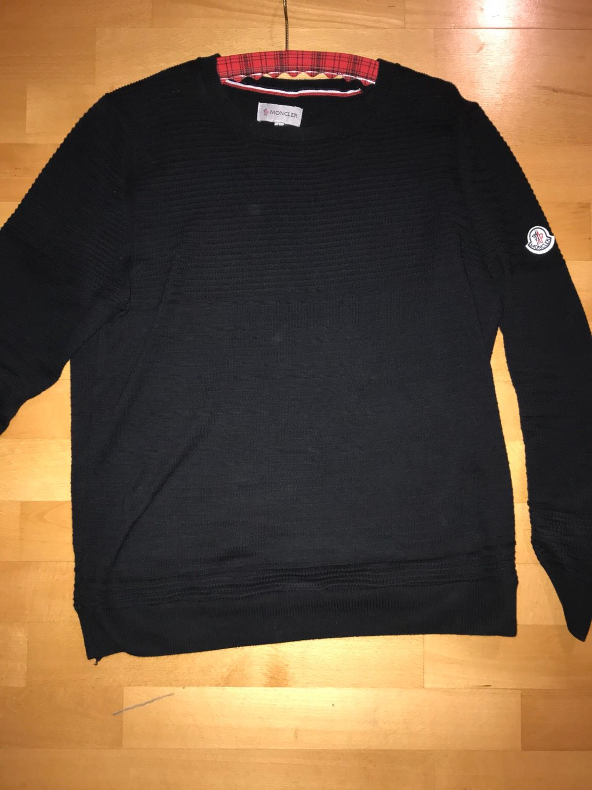 low priced c8868 87391 Moncler Pullover Größe L Wolle