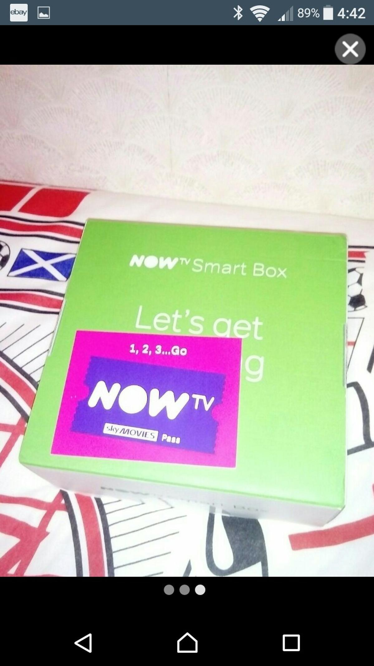 Now tv smart box brand new Freeview movies