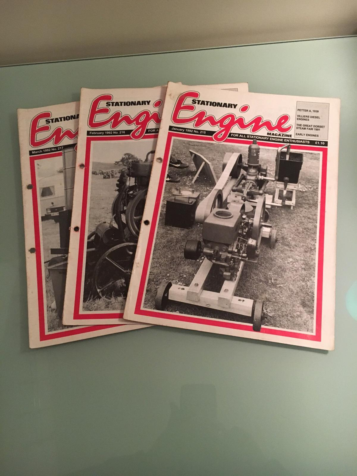 Stationary Engine Magazines in ST4-Trent for £2 00 for sale