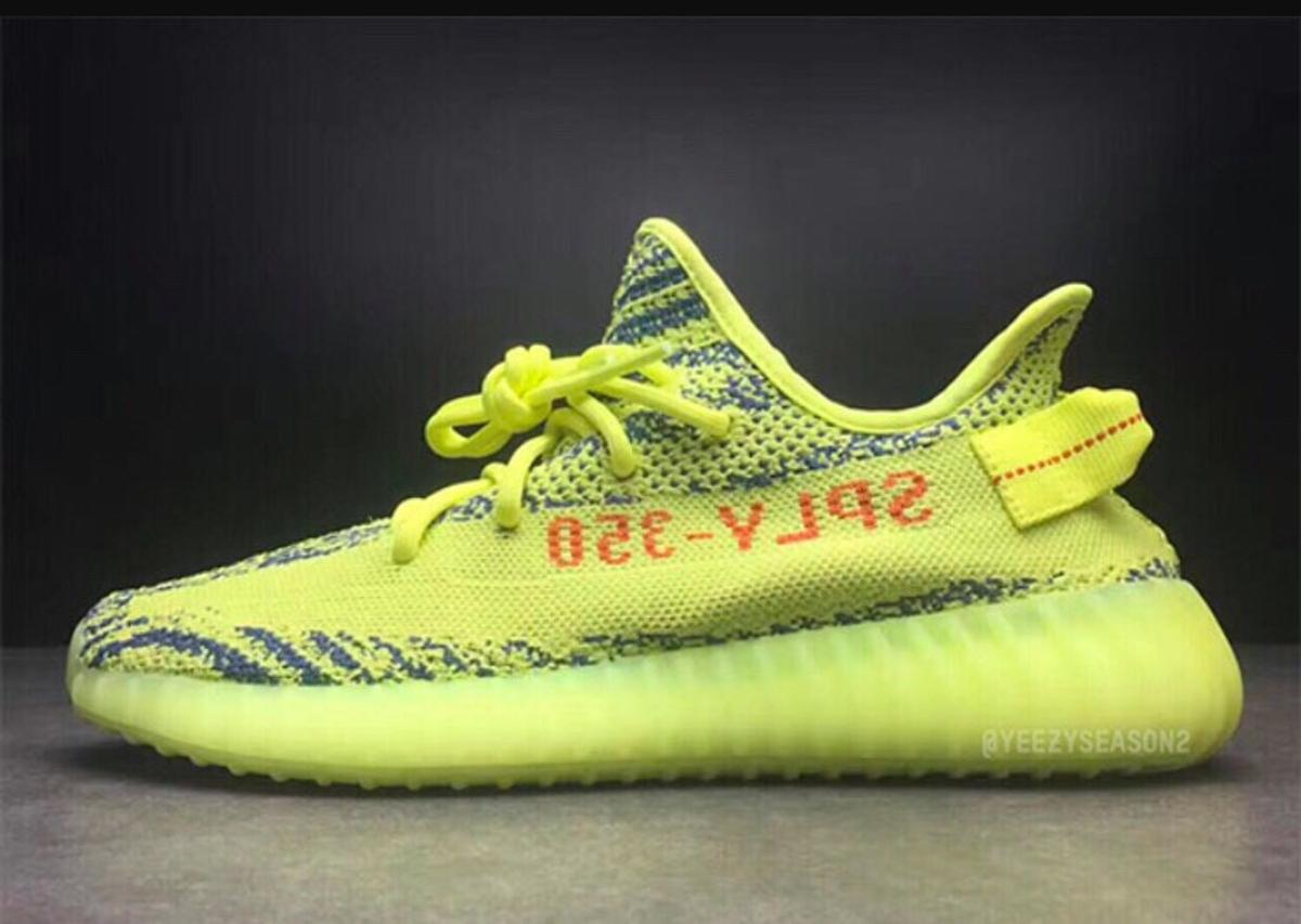 big sale be456 5fbc6 YEEZY BOOST 350 v2 SEMI FROZEN YELLOW