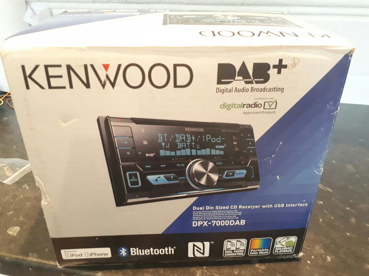 KENWOOD dpx7000 DAB double-din car stereo in BB2 Blackburn ... on