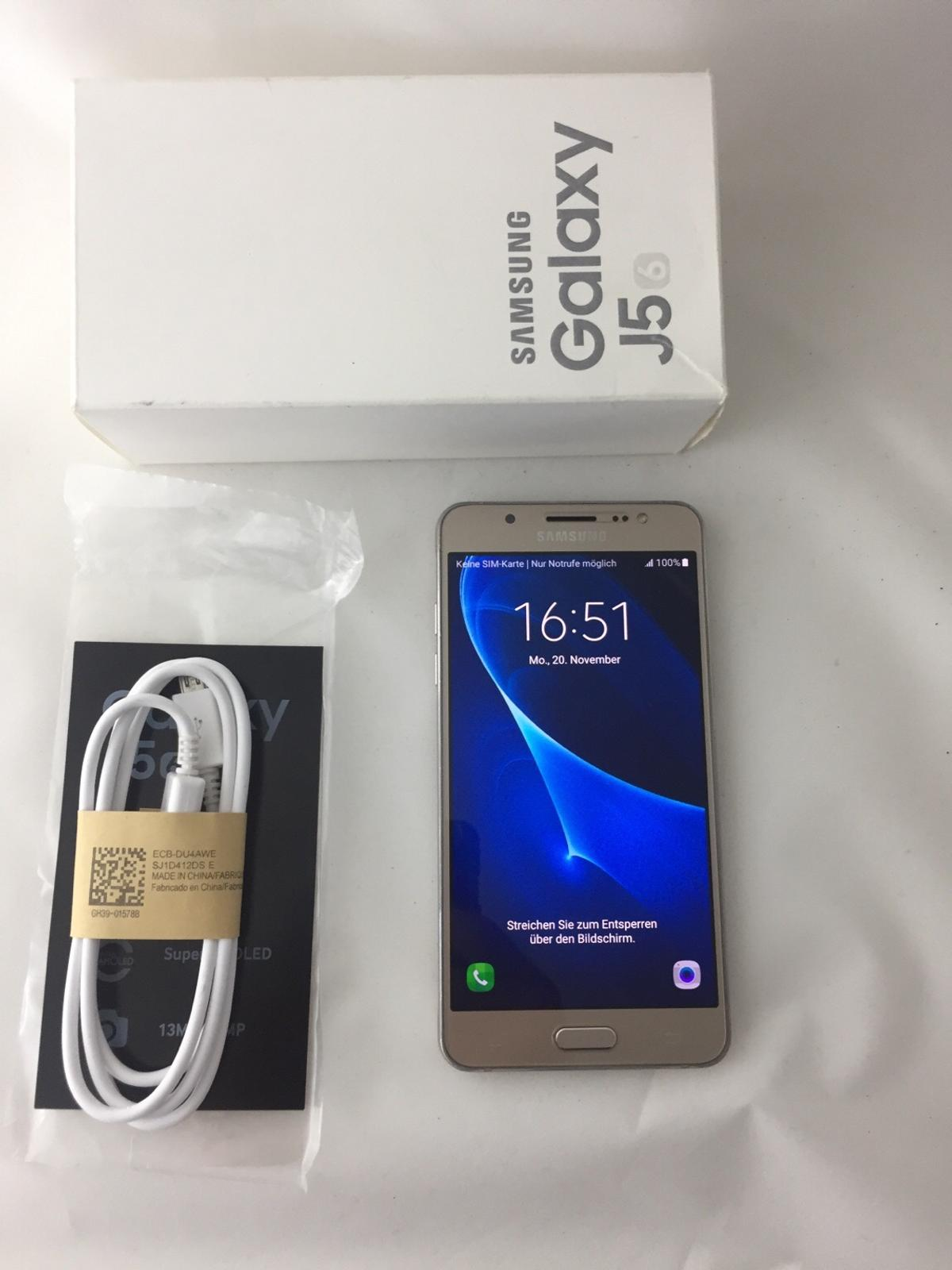 Samsung J5 Sim Karte.Samsung Galaxy J5 2016 Sm J510fn Ds In 83395 Freilassing For