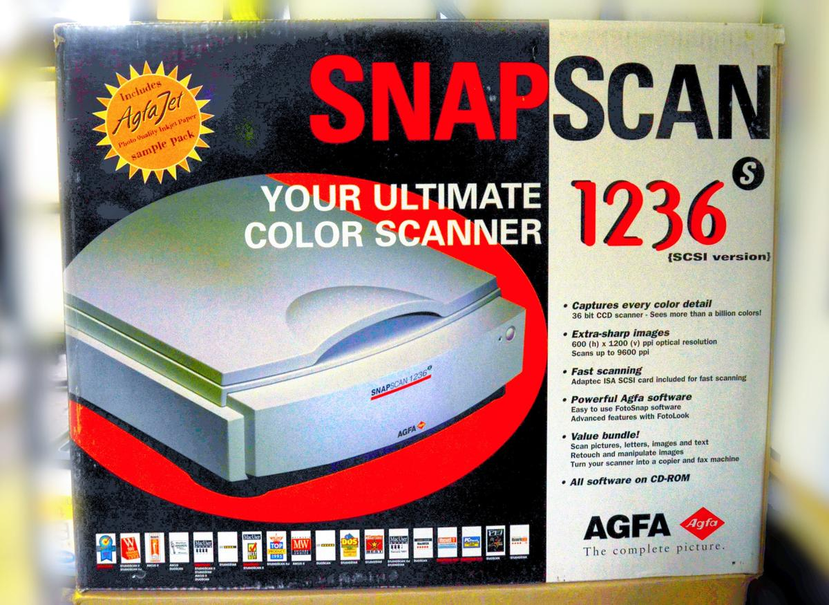 AGFA SnapScan 600 FotoLook Download Drivers