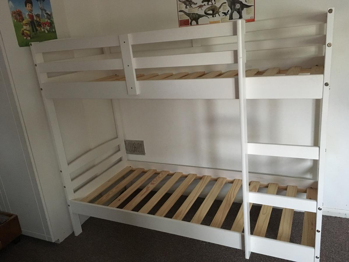 Picture of: White Bunk Bed Frame Argos In Br5 Orpington For 90 00 For Sale Shpock