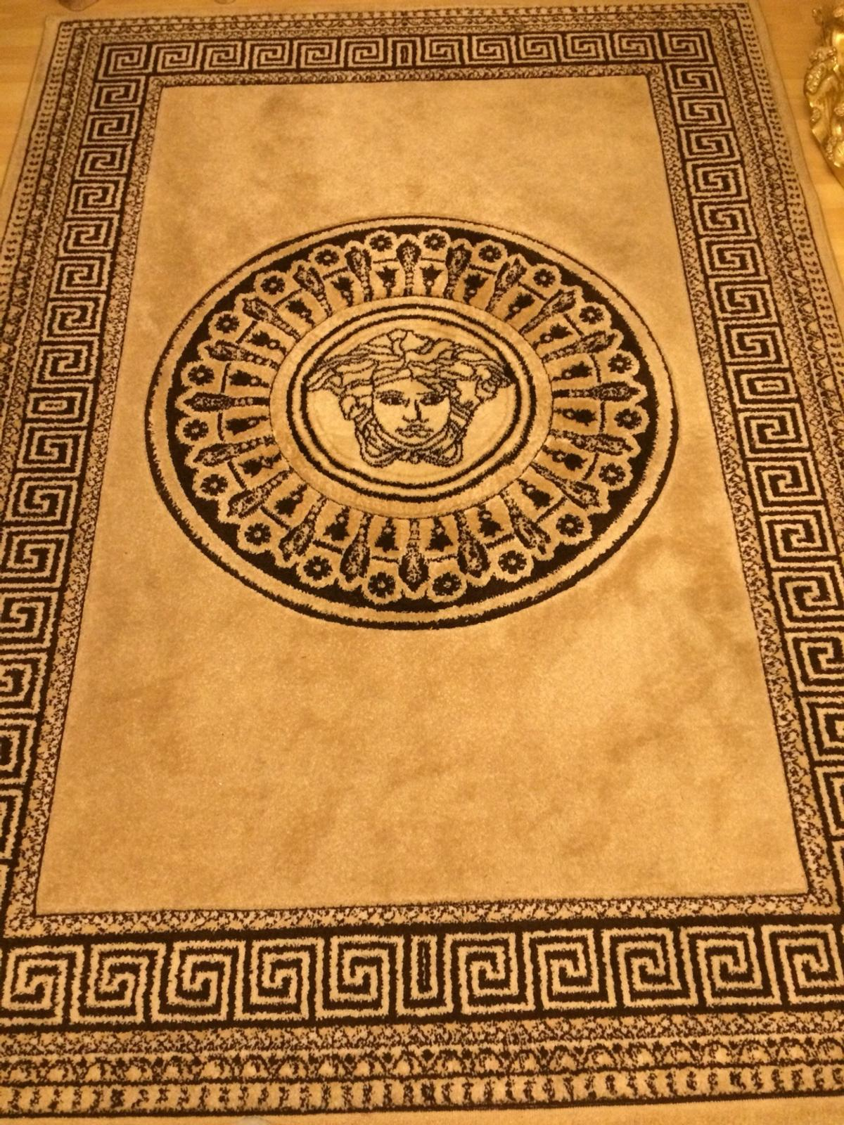 Versace Rug Greek Key Italian Style In