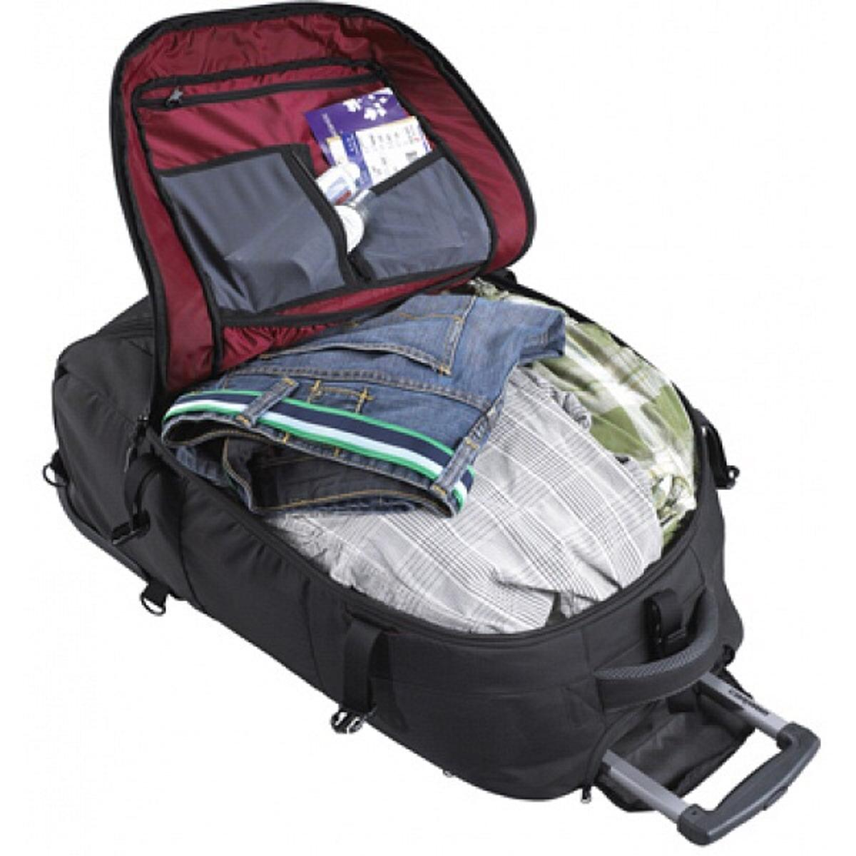42a2ec96931043 Caribee Fast Track 85L Black Wheeled Backpack in SW5 London for £50.00 for  sale - Shpock