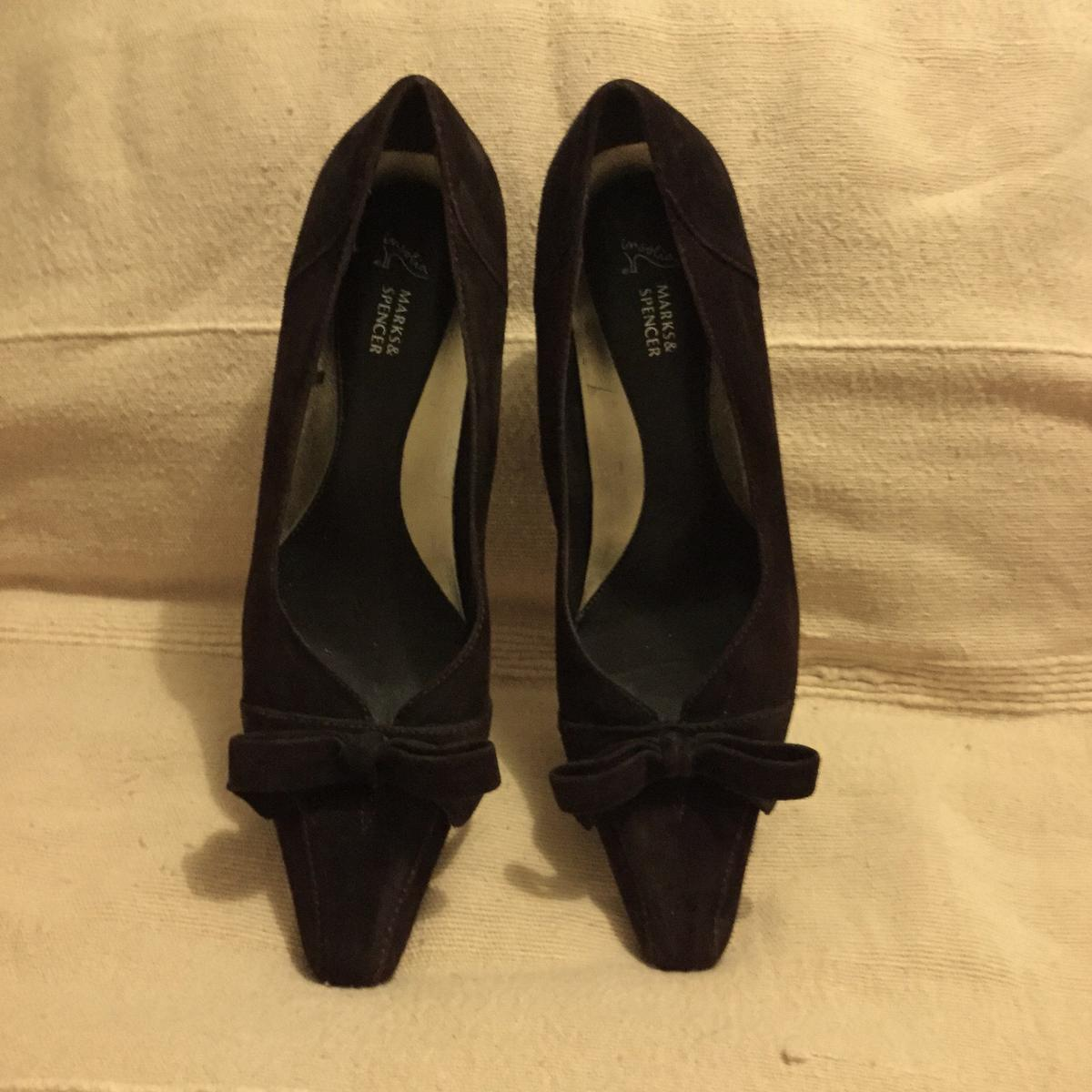 online here catch quality design Marks & Spencer suede shoes 3 in CF31 Bridgend for £6.50 for sale ...