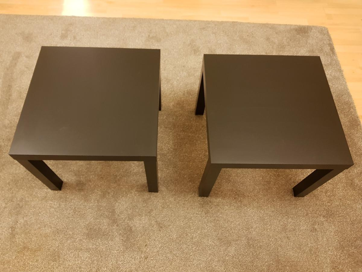 Black Side Table Ikea Lack X 2 In Wv8 Wolverhampton For 10 00 For