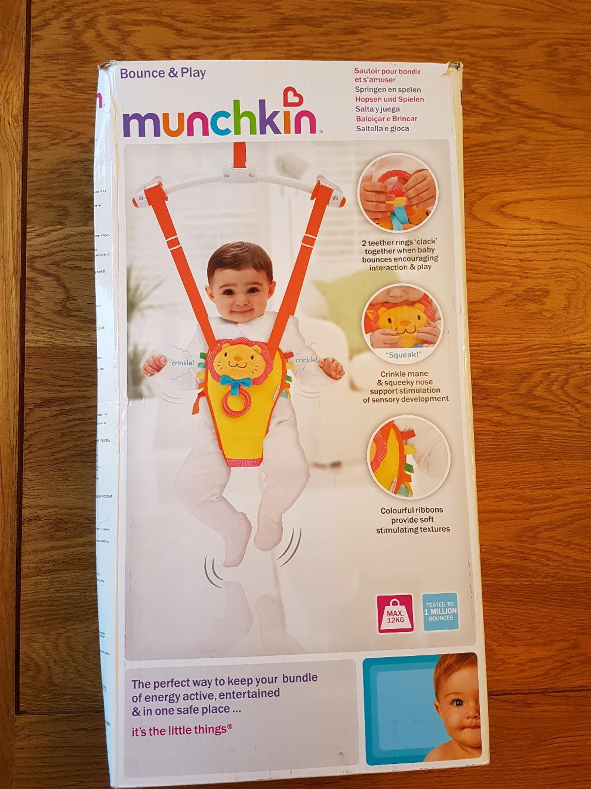 Provided Munchkin Bounce About Door Jumper Baby Swings