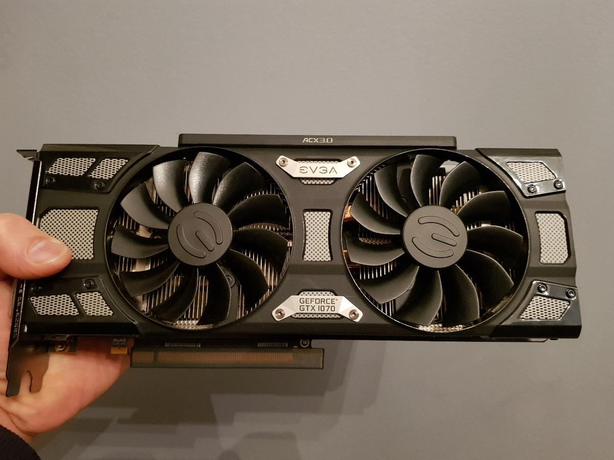 EVGA GeForce GTX 1070 SC ACX 3 0 in M25 Prestwich for
